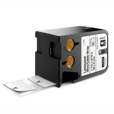 Štítky Dymo XTL 1868707 bílé/černý tisk, 38x21 mm, obmotávací