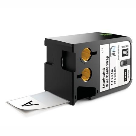 Štítky Dymo XTL 1868709 bílé/černý tisk, 38x102 mm, obmotávací