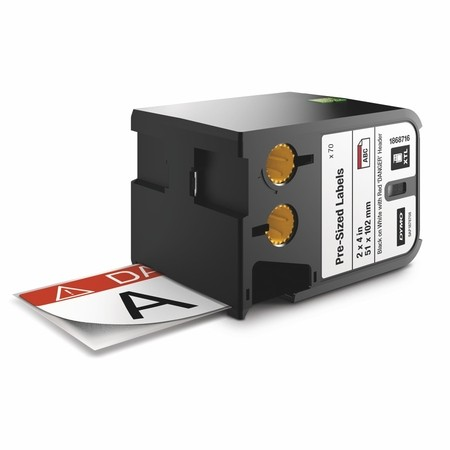 Bezpečnostní štítky Dymo XTL 1868716, 51x102 mm, DANGER