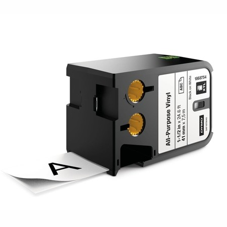 Páska Dymo XTL 1868754 bílá/černý tisk, 41 mm, vinylová