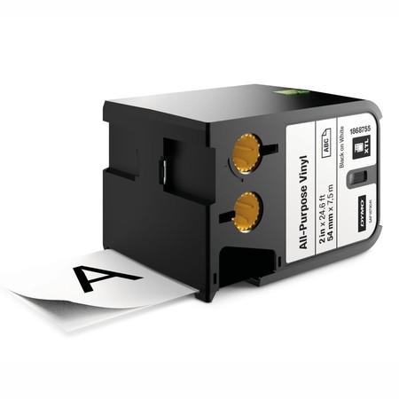 Páska Dymo XTL 1868755 bílá/černý tisk, 54 mm, vinylová