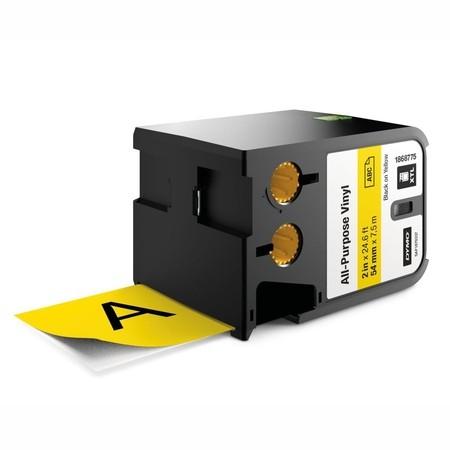 Páska Dymo XTL 1868775 žlutá/černý tisk, 54 mm, vinylová