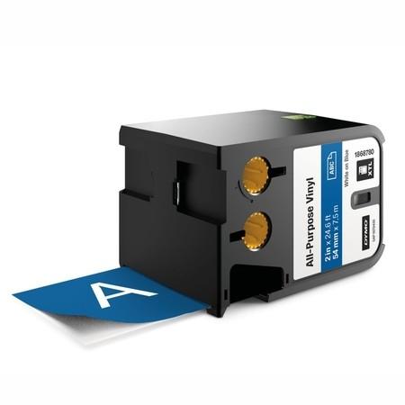 Páska Dymo XTL 1868780 modrá/bílý tisk, 54 mm, vinylová