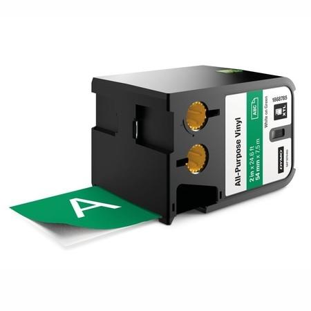 Páska Dymo XTL 1868785 zelená/bílý tisk, 54 mm, vinylová