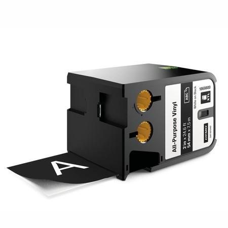 Páska Dymo XTL 1868800 černá/bílý tisk, 54 mm, vinylová