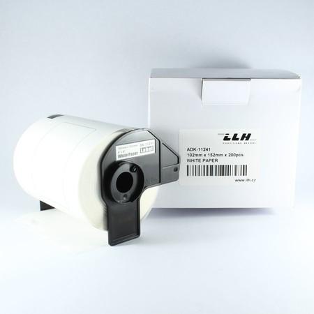 Papírové štítky ADK11241, 102x152 mm, 200 ks