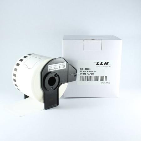 Papírová role ADK22205, šířka 62 mm