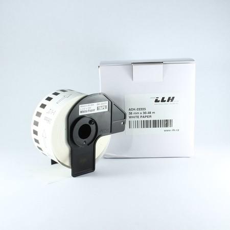 Papírová role ADK22225, šířka 38 mm