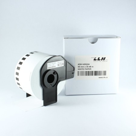 Papírová role ADKN55224, šířka 54 mm, bez lepidla