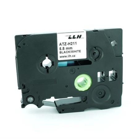 Bužírka ATZ-H211 bílá, 6 mm