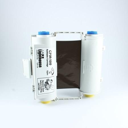 Barvící páska CPMR40-RC černá s kazetou