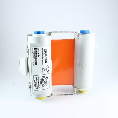 Barvící páska CPMR46-RC oranžová s kazetou