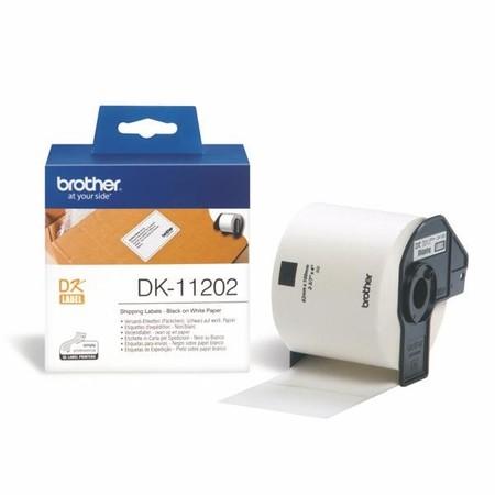Papírové štítky Brother DK11202, 62x100 mm, 300 ks
