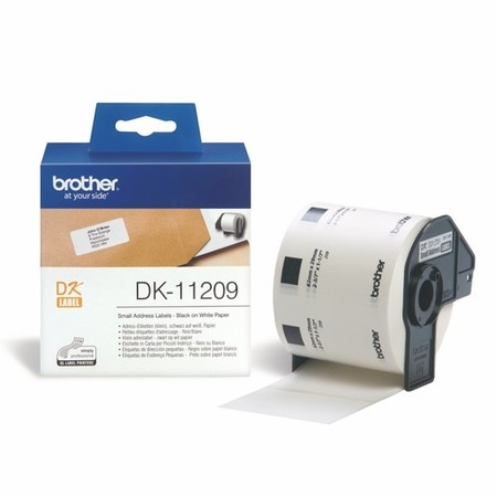 Papírové štítky Brother DK11209, 62x29 mm, 800 ks