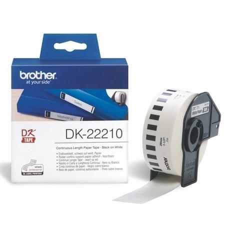 Papírová role Brother DK22210, šířka 29 mm
