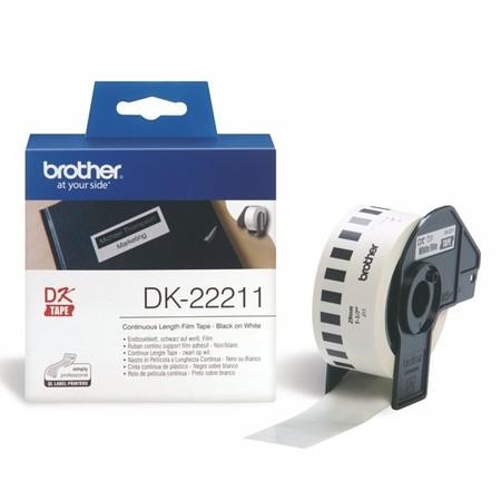 Filmová role Brother DK22211 bílá, šířka 29 mm