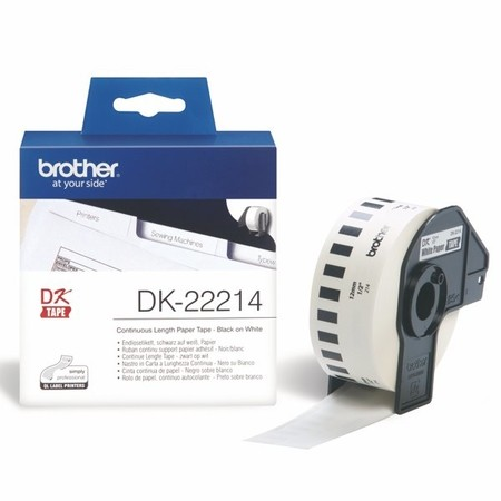 Papírová role Brother DK22214, šířka 12 mm