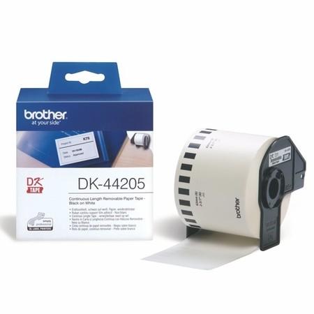 Papírová role Brother DK44205, šířka 62 mm, snímatelná