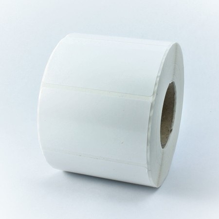 Plastové štítky 40x20 mm bílé, 2300 ks