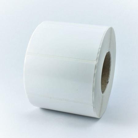 Plastové štítky 40x80 mm bílé, 650 ks