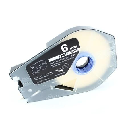 Štítková páska LT-06B bílá, 6 mm x 30 m