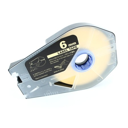 Štítková páska LT-06Z žlutá, 6 mm x 30 m