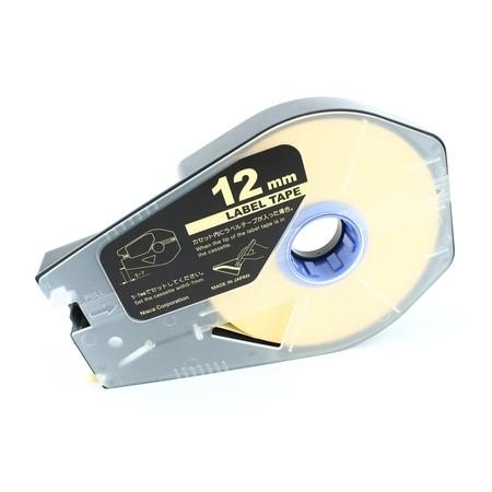 Štítková páska LT-12Z žlutá, 12 mm x 30 m