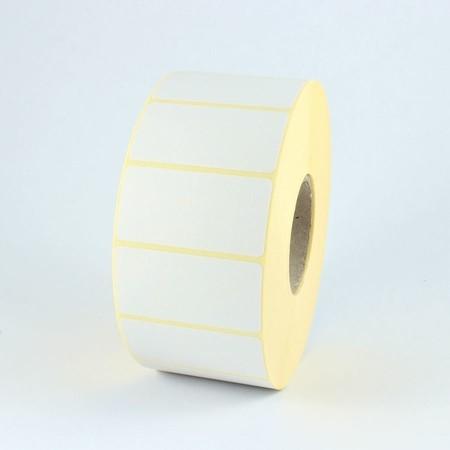 Papírové štítky 63x38 mm, silné lepidlo, 2000 ks