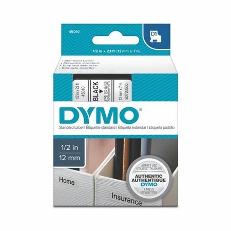 Páska Dymo S0720500 průhledná/černý tisk, 12 mm