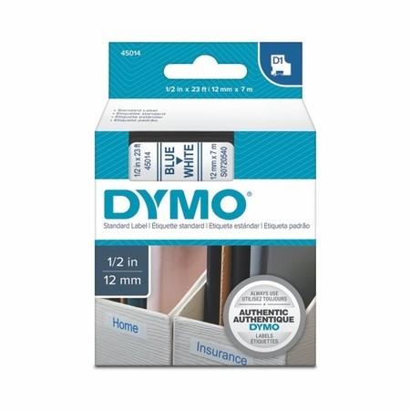 Páska Dymo S0720540 bílá/modrý tisk, 12 mm
