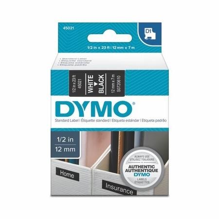 Páska Dymo S0720610 černá/bílý tisk, 12 mm