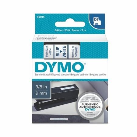 Páska Dymo S0720690 bílá/modrý tisk, 9 mm