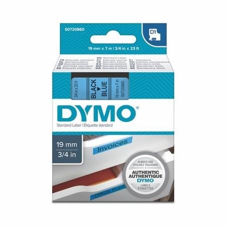 Páska Dymo S0720860 modrá/černý tisk, 19 mm