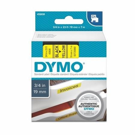 Páska Dymo S0720880 žlutá/černý tisk, 19 mm