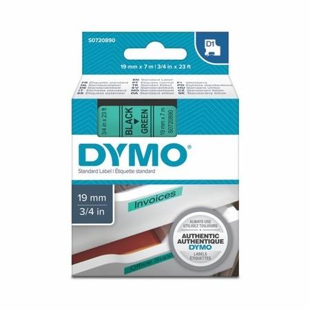 Páska Dymo S0720890 zelená/černý tisk, 19 mm