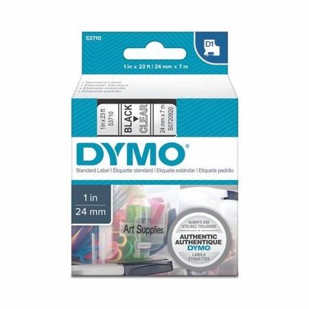 Páska Dymo S0720920 průhledná/černý tisk, 24 mm