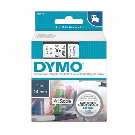 Páska Dymo S0720930 bílá/černý tisk, 24 mm