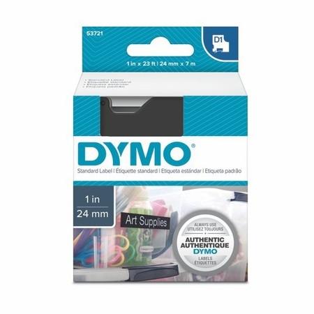 Páska Dymo S0721010 černá/bílý tisk, 24 mm