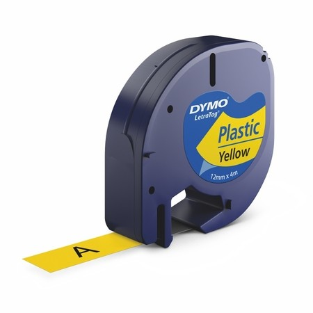 Páska Dymo S0721570 žlutá, 12 mm x 4 m