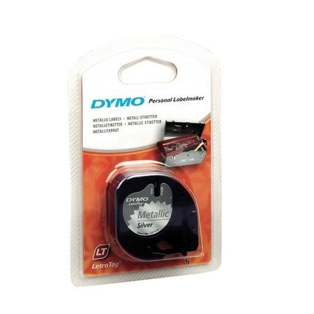 Páska Dymo S0721710 metalická stříbrná, 12 mm x 4 m