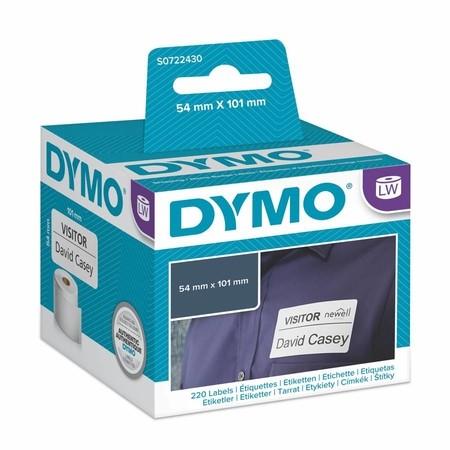 Papírové štítky Dymo S0722430, 101x54 mm, 220 ks
