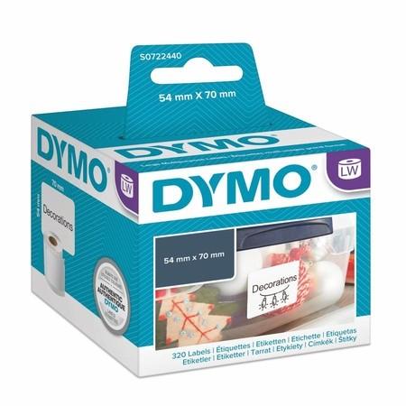 Papírové štítky Dymo S0722440, 70x54 mm, 320 ks