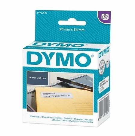Papírové štítky Dymo S0722520, 54x25 mm, 500 ks