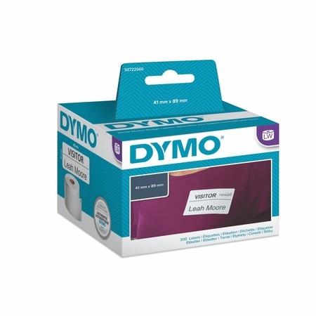 Papírové štítky Dymo S0722560 nepermanentní, 89x41 mm, 300 ks