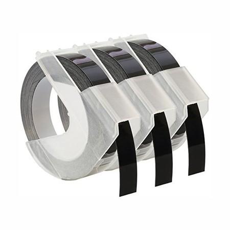 Páska Dymo S0847730 černá, 9 mm, sada 3 ks