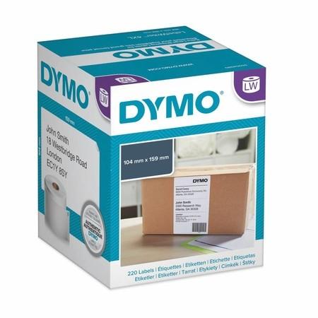 Papírové štítky Dymo S0722660, 159x104 mm, 220 ks