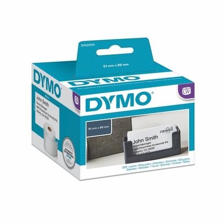 Papírové štítky Dymo S0929100 bez lepidla, 89x51 mm, 300 ks