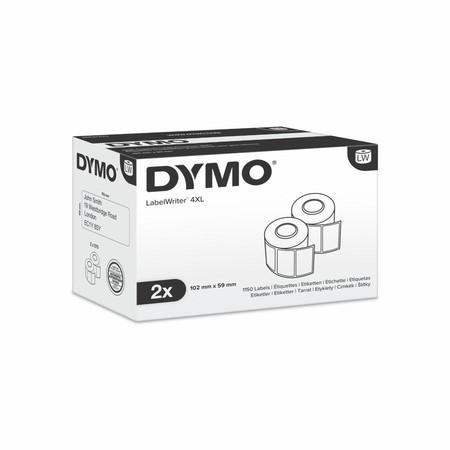 Papírové štítky Dymo S0947420, 102x59 mm, vysokokapacitní, 2x575 ks
