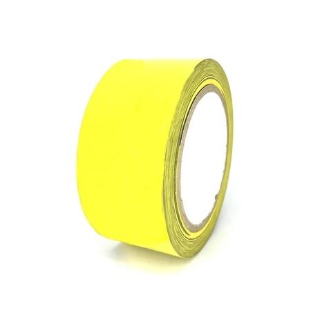 Podlahová páska TMF01 žlutá 50 mm, délka 30 m