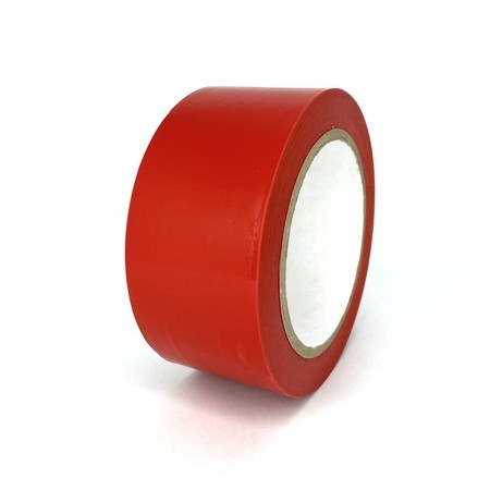 Podlahová páska TMF04 červená 50 mm, délka 30 m